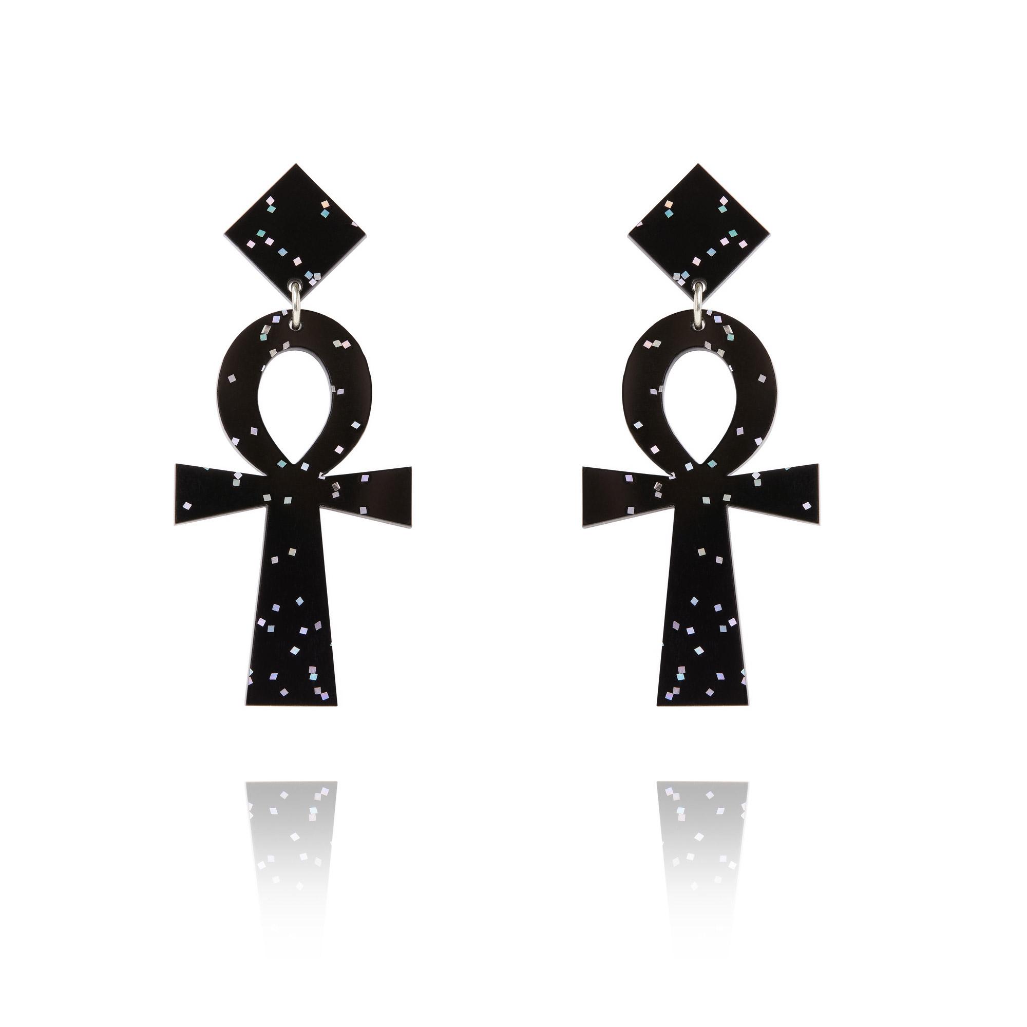 Ideal Ankh Earrings RU83