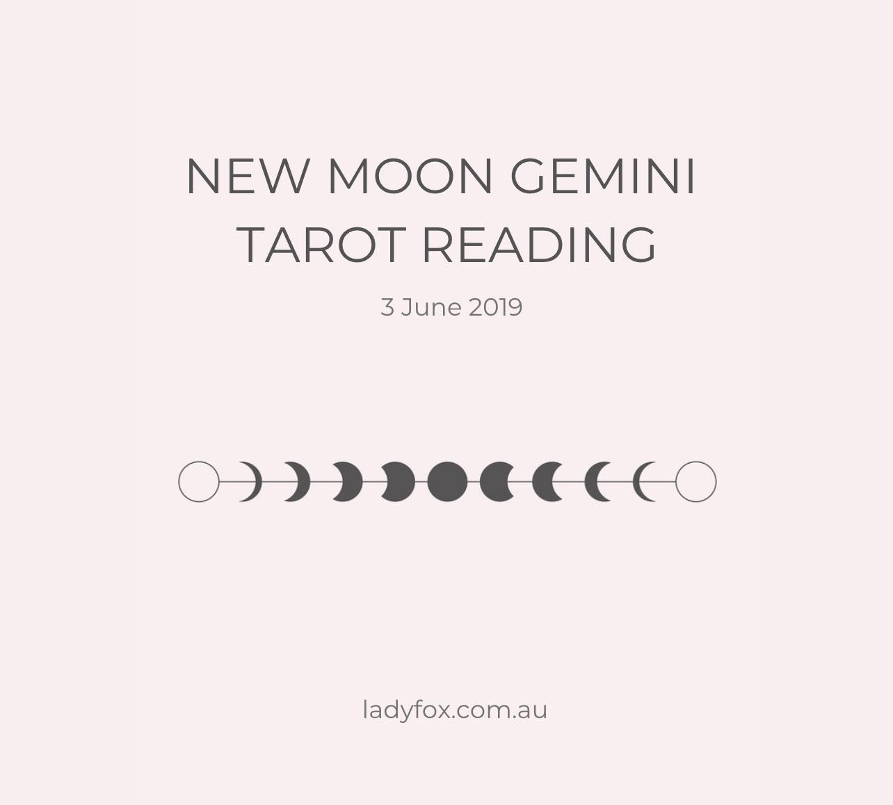 New Moon in Gemini Reading - Lady Fox